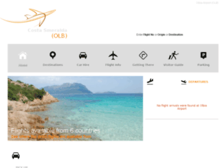olbiaairport.com screenshot