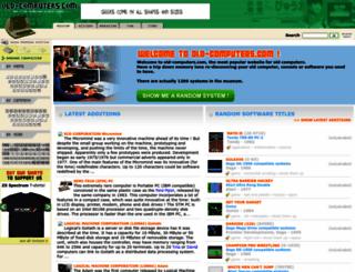 old-computers.com screenshot