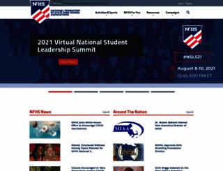 old.nfhs.org screenshot