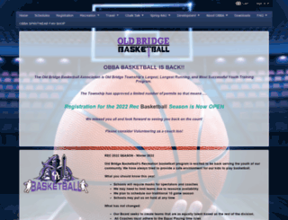 oldbridgebasketball.com screenshot