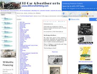 oldcaradvertising.com screenshot