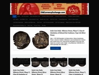 oldcurrencyexchange.com screenshot