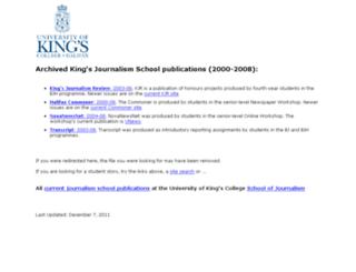 older.kingsjournalism.com screenshot