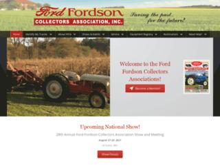 oldfordtractors.com screenshot