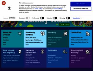 oldham.gov.uk screenshot