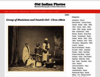 oldindianphotos.in screenshot