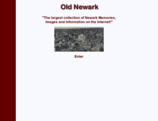 oldnewark.com screenshot
