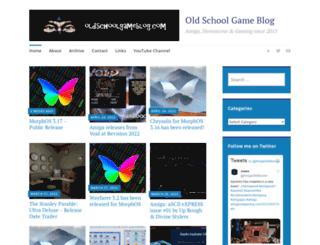oldschoolgameblog.com screenshot