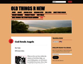oldthingsrnew.com screenshot