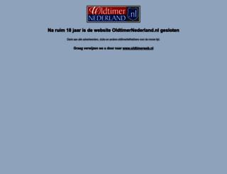 oldtimernederland.nl screenshot