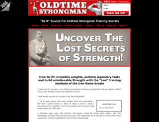 oldtimestrongman.com screenshot