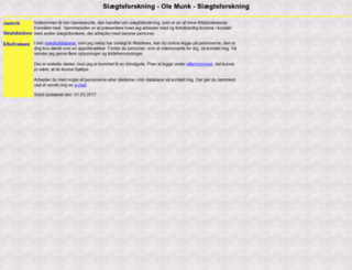 ole-munk.dk screenshot