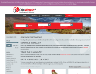 oliewereld.nl screenshot