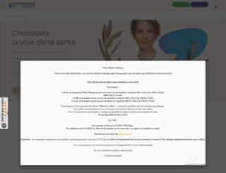 oligosante.fr screenshot