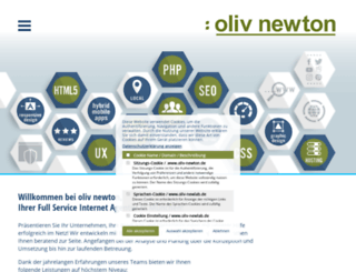 oliv-newton.de screenshot