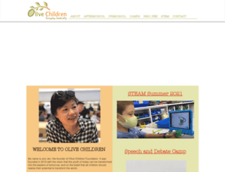 olivechildren.com screenshot