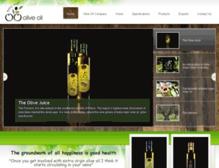 oliveoilcompany.gr screenshot