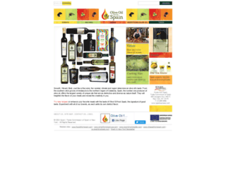 oliveoilfromspain.com screenshot