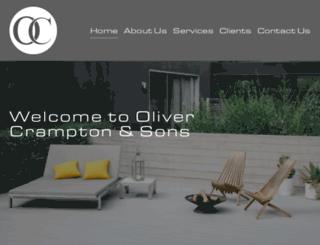 olivercrampton.com screenshot