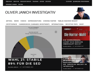 oliverjanich.de screenshot