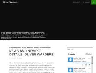 oliverwarders.xyz screenshot