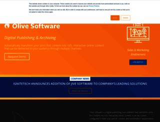 olivesoftware.com screenshot