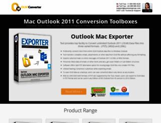 olmconverter.com screenshot