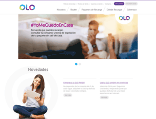 olo.com.pe screenshot