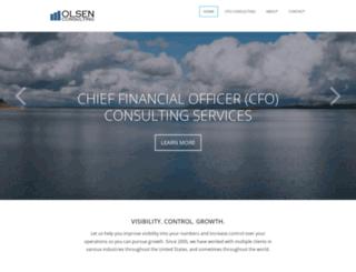 olsenfinancial.com screenshot