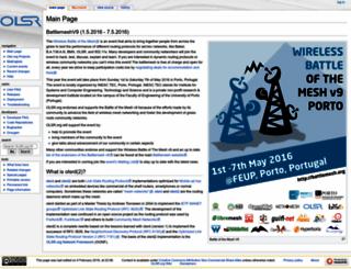 olsr.org screenshot