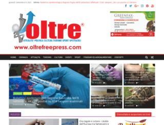 oltrefreepress.com screenshot