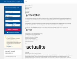 olympe-network.com screenshot