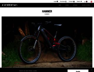 olympia-cycles.com screenshot