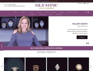 olympicgoldandjewelry.com screenshot