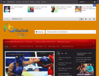olympischespelentv.nl screenshot