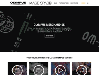 olympus-imagespace.co.uk screenshot