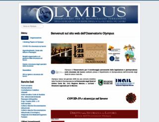 olympus.uniurb.it screenshot