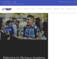 olympusacademyforyouth.com screenshot