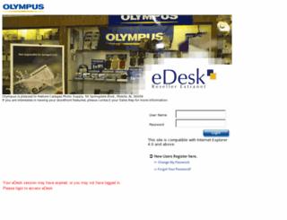 olympusedesk.com screenshot