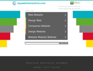 olywebinteractive.com screenshot
