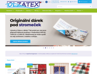 olzatex.cz screenshot