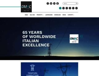 omac-italy.com screenshot