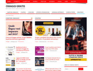 omaggigratis.net screenshot