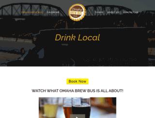 omaha-brew-bus.squarespace.com screenshot