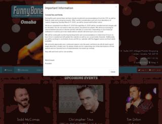 omaha.comedyreservations.com screenshot