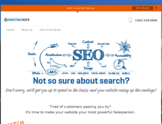 omahaseo.marketing1on1.com screenshot