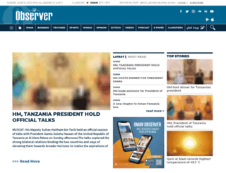 omanobserver.om screenshot