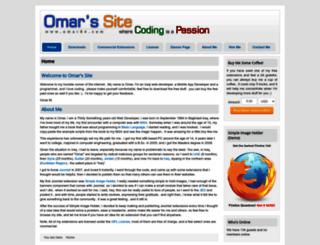 omar84.com screenshot