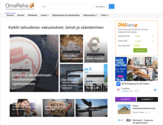 omaraha.org screenshot