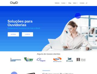 omd.com.br screenshot